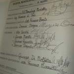 """Le prime firme sul """"Canovaccio della Festa Maggiore"""". Le foto"""