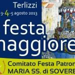 PROGRAMMA CIVILE E RELIGIOSO – FESTA MAGGIORE 2013