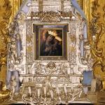"""La """"cona"""" della Madonna di Sovereto."""