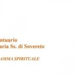 Appuntamenti spirituali presso il Santuario di Sovereto a cura della Concattedrale Terlizzi