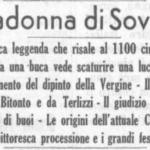 """La storia della nostra festa in un articolo de """"LA GAZZETTA DEL MEZZOGIORNO"""" Datato 6 GIUGNO 1938"""